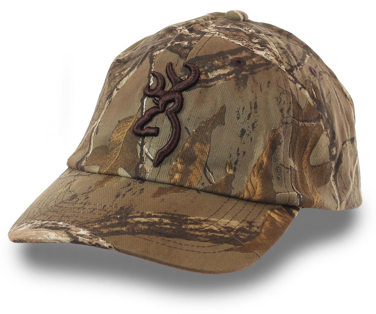Бейсболка культового бренда BROWNING – модель, завоевавшая признание профессиональных охотников и туристов со всего мира. Гарантия универсальности и долгого срока службы