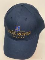 Бейсболка Louis Royer темно-синего цвета