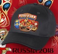 Крутая графитовая бейсболка «Люблю Россию».