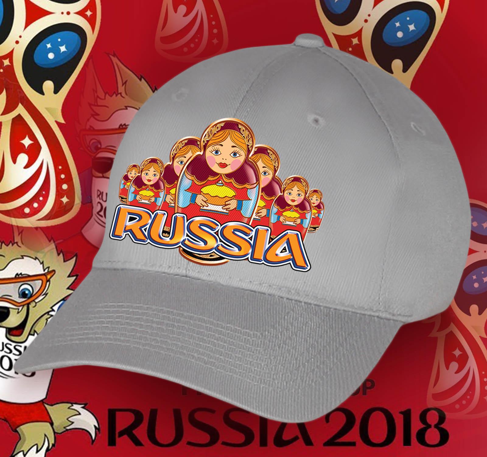 Бейсболка «Русские матрешки» – ограниченная серия