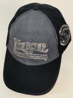 Бейсболка Mercer с серебристым блестящим принтом