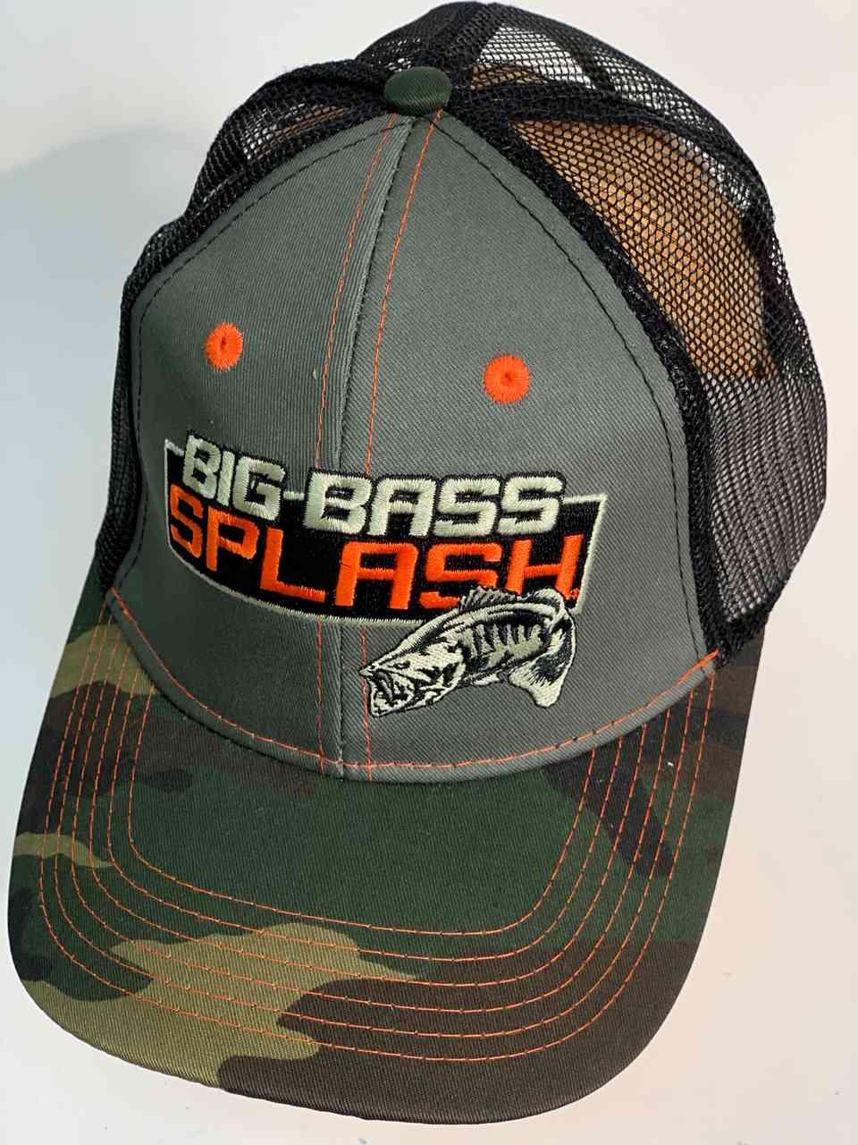 Бейсболка милитари Big Bass Splash