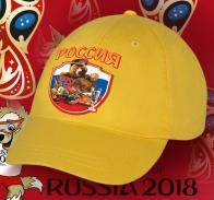 Прикольная бейсболка «Русский Мишка кутёжник»
