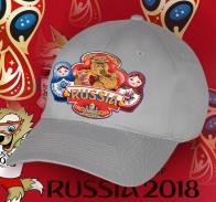 Классная бейсболка «Русский мишка зажигает с матрёшками»
