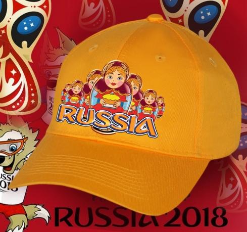Солнечная бейсболка «Моя Россия» для фанатов и болельщиков