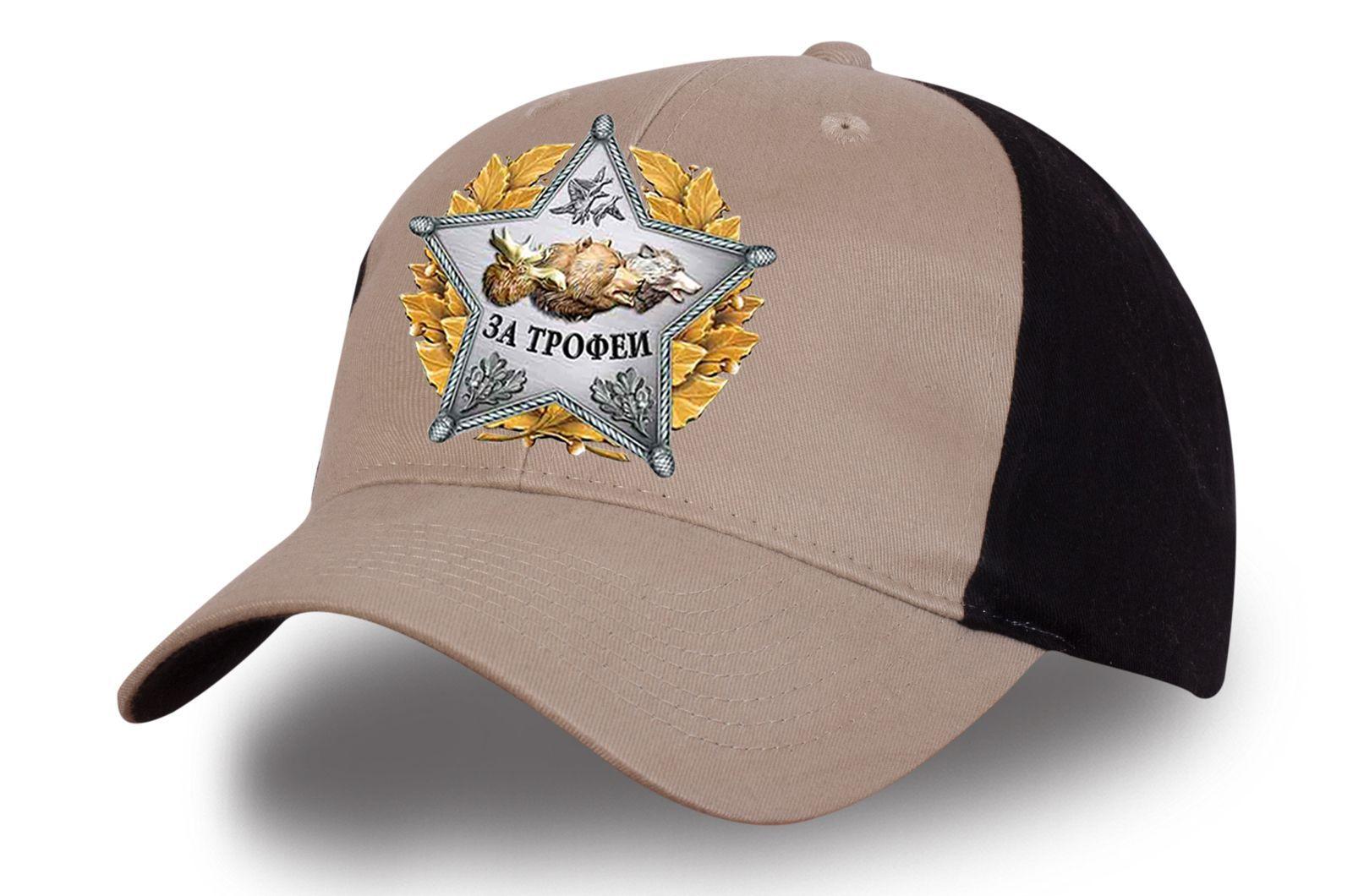 Бейсболка Настоящему охотнику - заказать оптом с доставкой