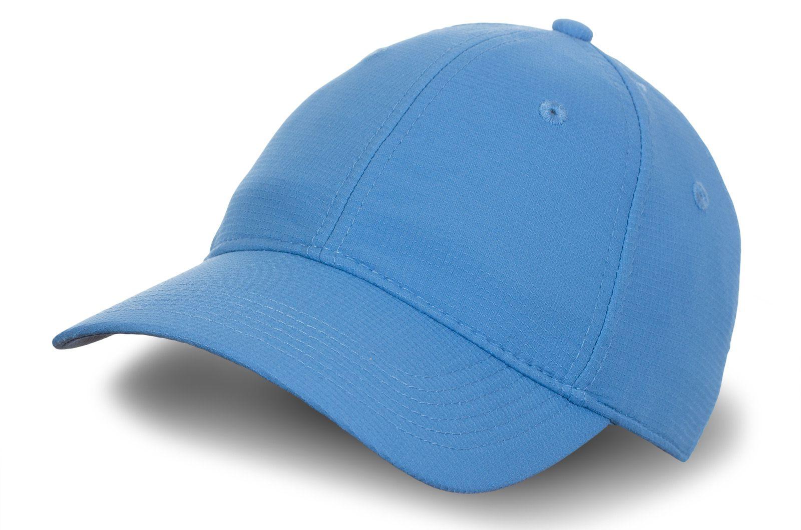 Бейсболка небесно-голубая