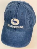 Бейсболка New Hampshire с вышитым силуэтом лося