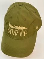 Бейсболка NWTF цвета хаки с вышивкой