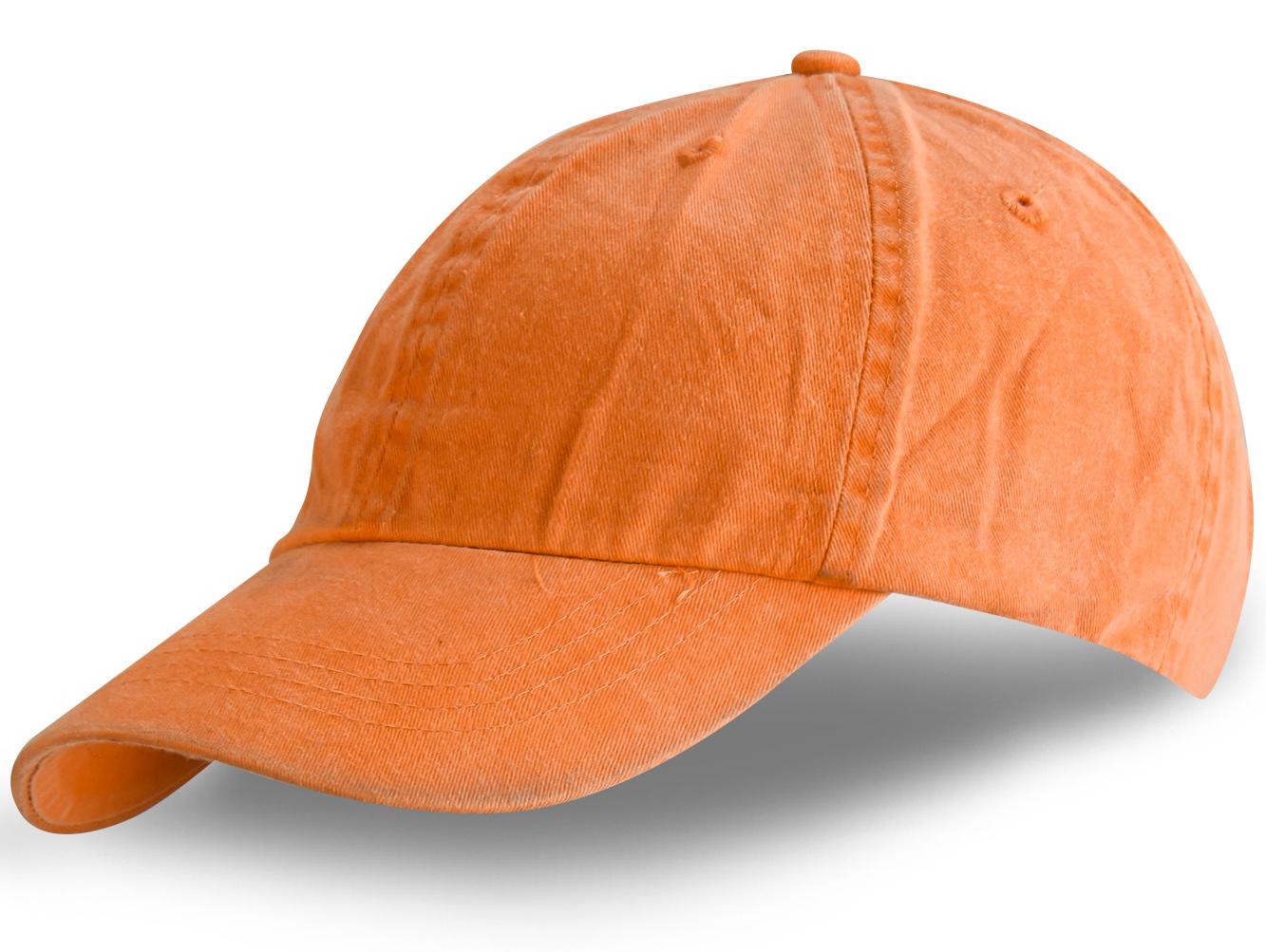 Бейсболка оранжевая - купить в интернет-магазине с доставкой