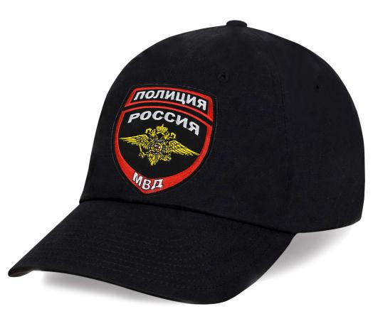 Бейсболка особая с вышивкой Полиция России