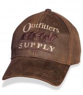 Фактурная мужская бейсболка с вышивкой Outfitters Supply.