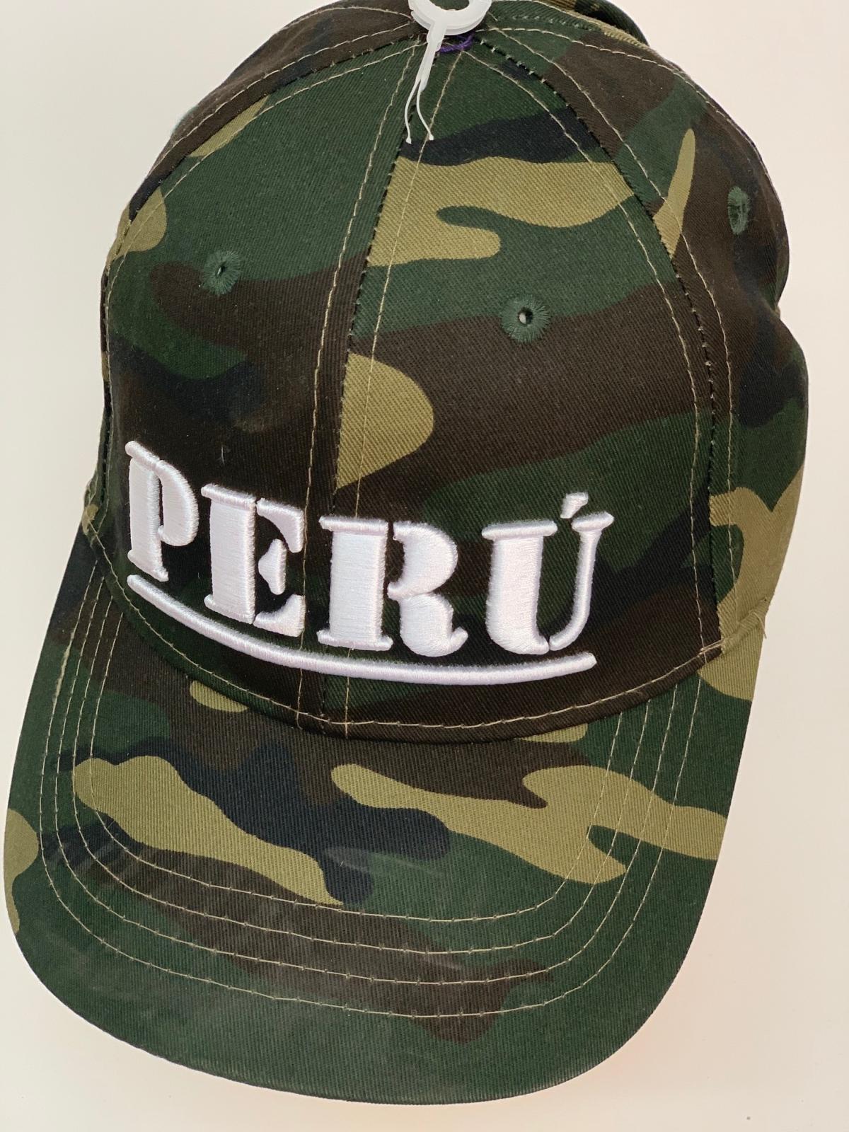 Бейсболка Perú из камуфлированной ткани