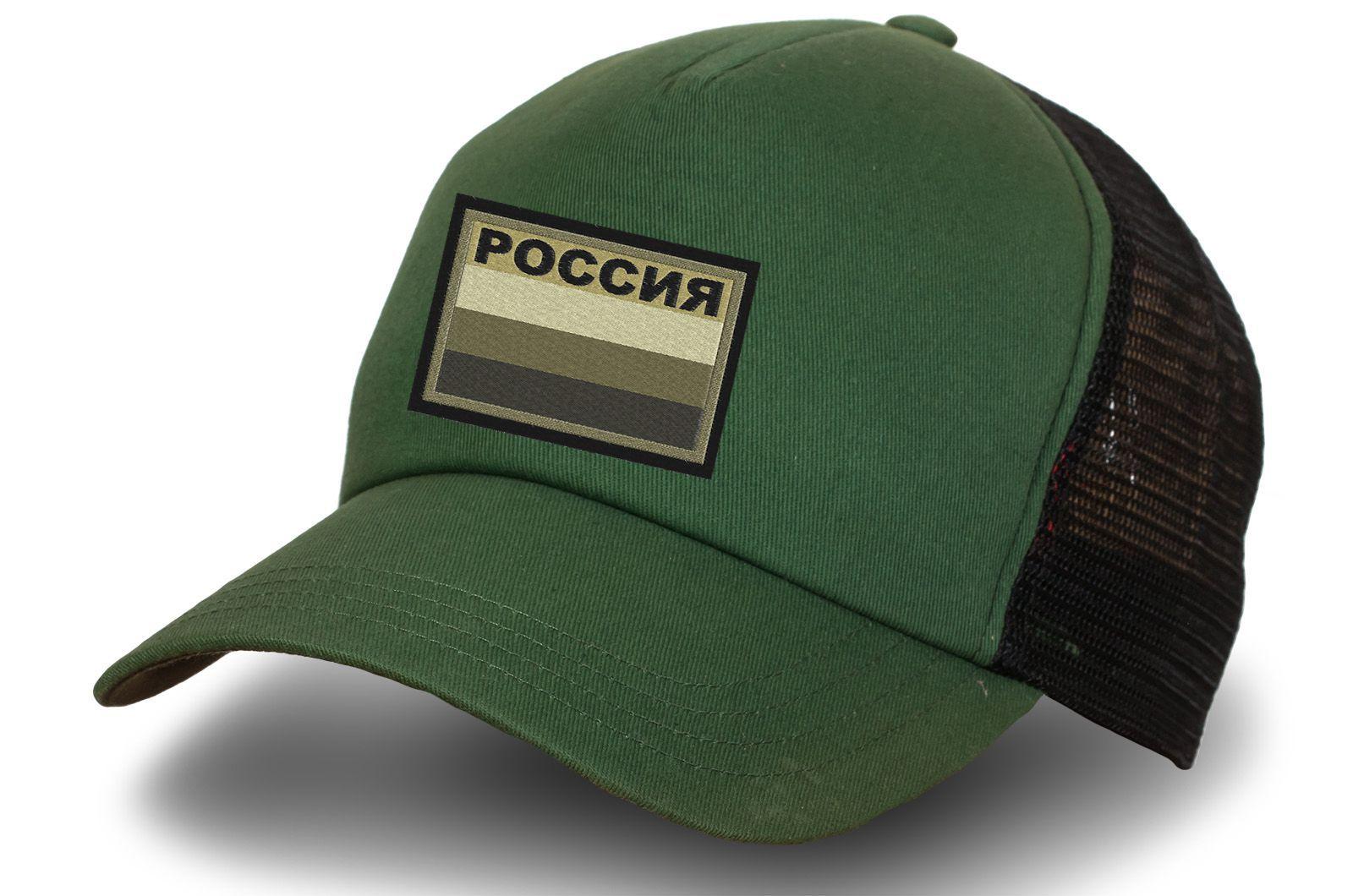 Бейсболка Полевой патч флаг России