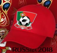 Бейсболка с эмблемой португальской сборной по футболу.