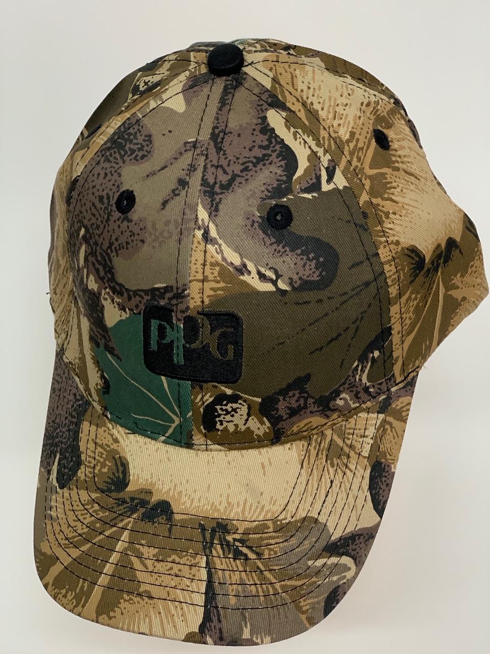 Бейсболка PPG из камуфлированной ткани