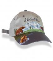 Бейсболка-произведение искусства ALASKA.