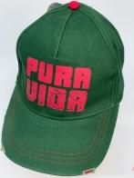 Бейсболка Pura Vida изумрудного цвета
