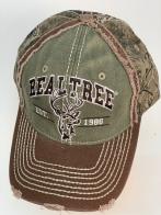 Бейсболка Realtree с камуфляжным тылом и вышитой головой оленя