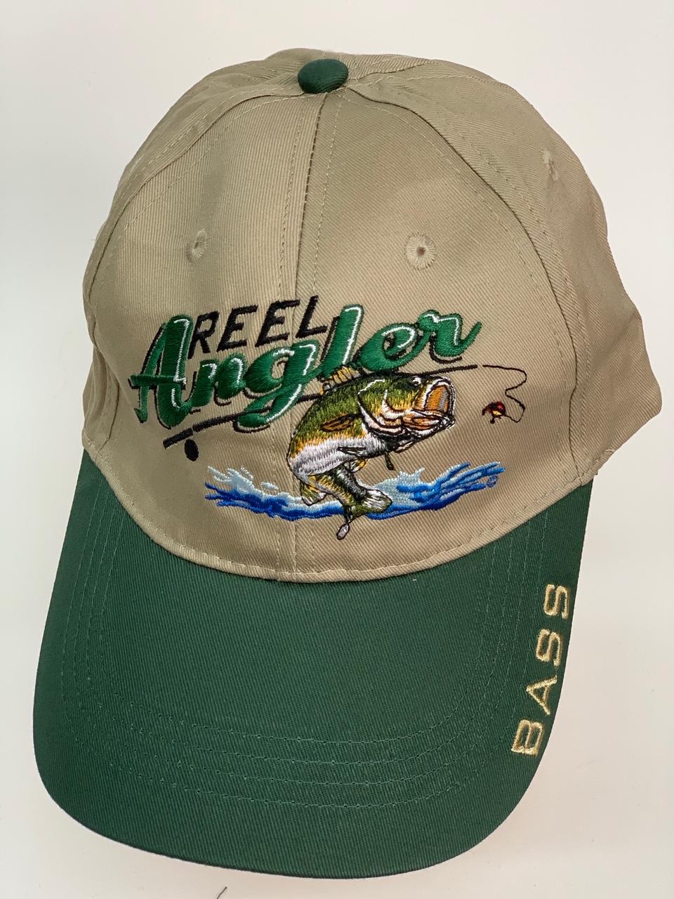Бейсболка Reel Angler с вышитой рыбой