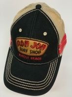 Бейсболка Ron Jon черного цвета с сеткой