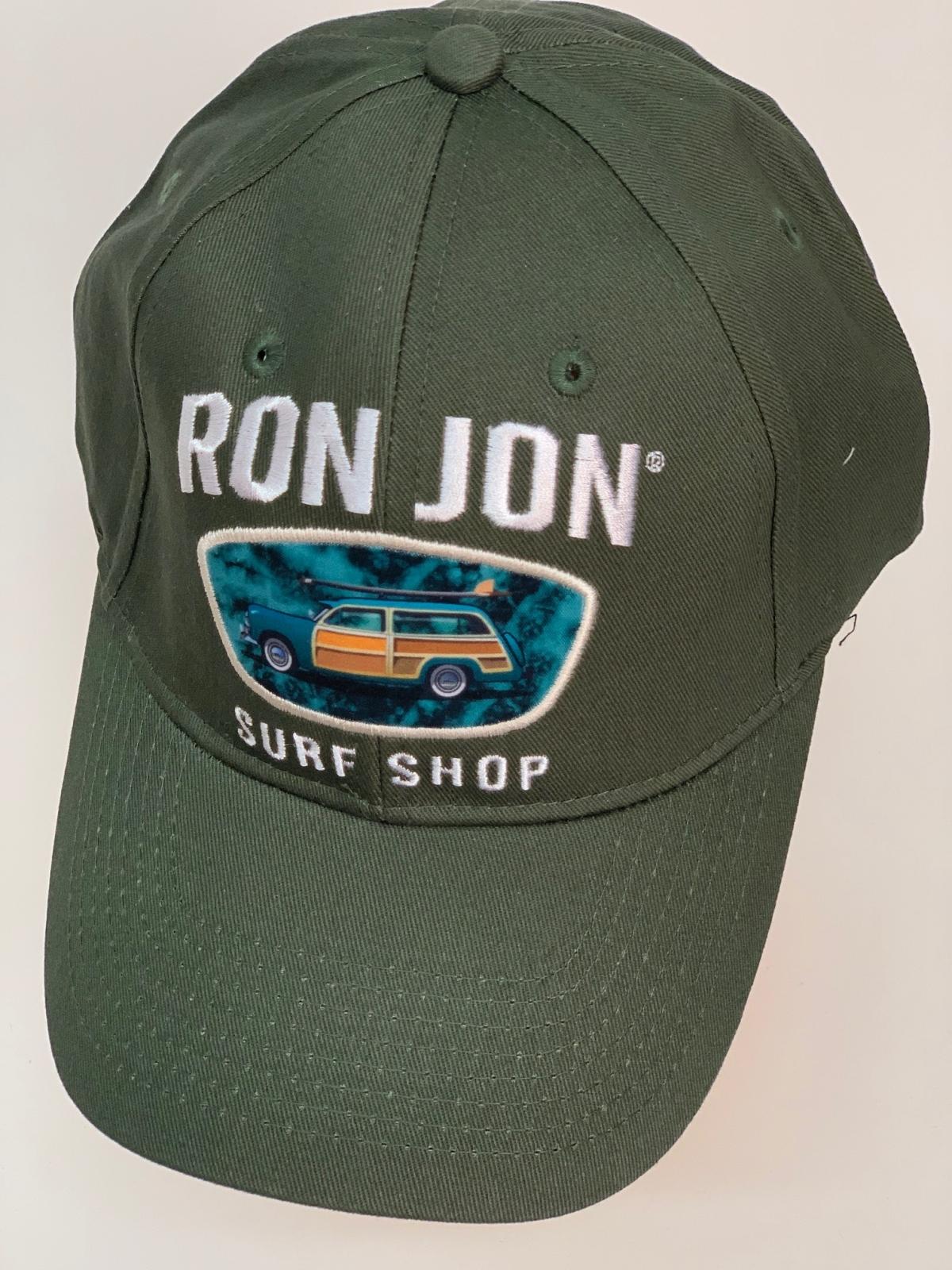 Бейсболка Ron Jon оливкового цвета