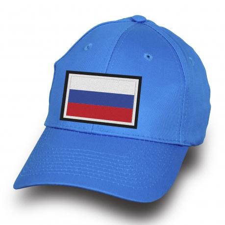 Бейсболка Российский триколор - купить с доставкой