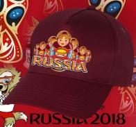 Колоритная бейсболка для российских болельщиков и фанатов нашей сборной по футболу