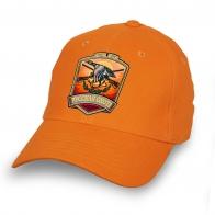 Бейсболка РУССКАЯ ОХОТА оранжевая