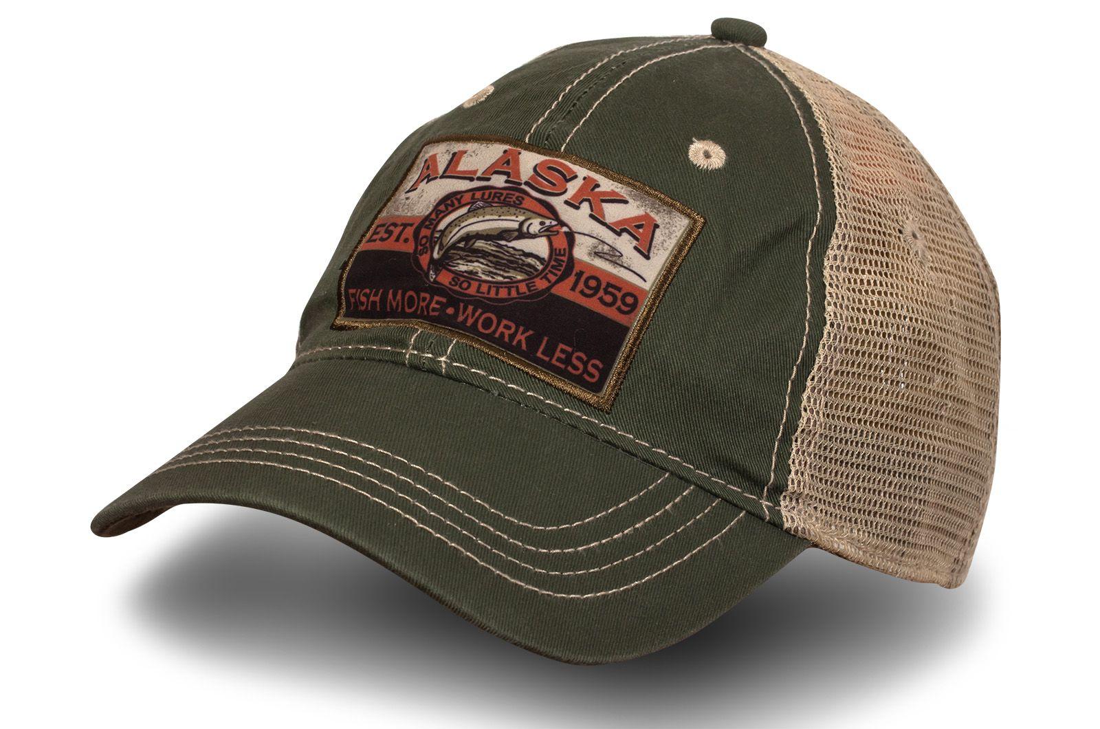 Бейсболка рыбака Alaska - купить с доставкой