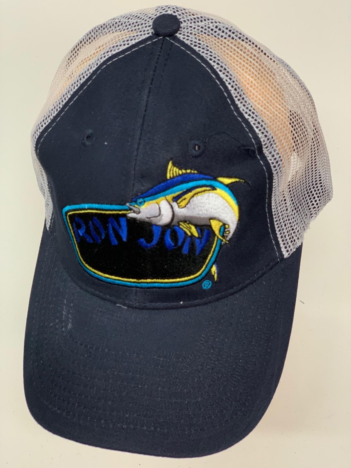 Бейсболка рыбаку Ron Jon с вышивкой и сеткой