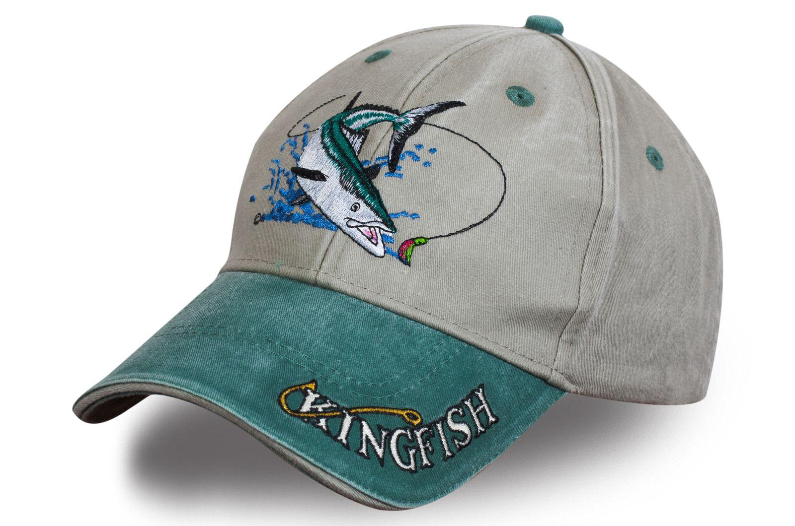 Бейсболка рыболова Кингфиш - купить по выгодной цене