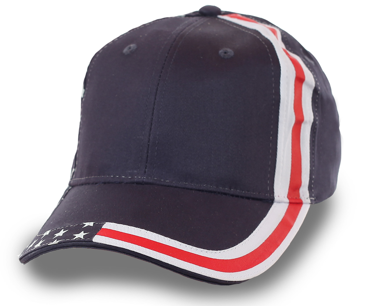 Бейсболка со стилизованным флагом USA – идеально выкроенный головной убор идёт ВСЕМ мужчинам! Точка!