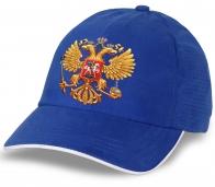 Бейсболка с гербом России для фанатов и патриотов.