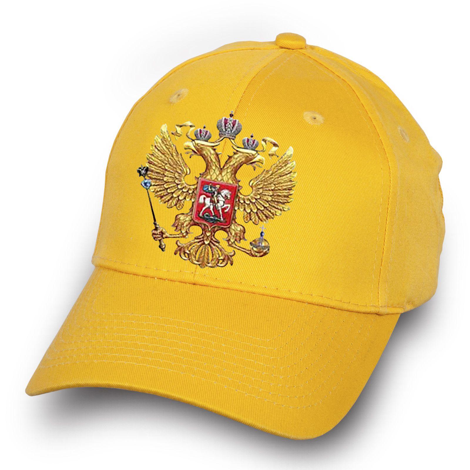 Бейсболка с гербом России - купить онлайн с достакой