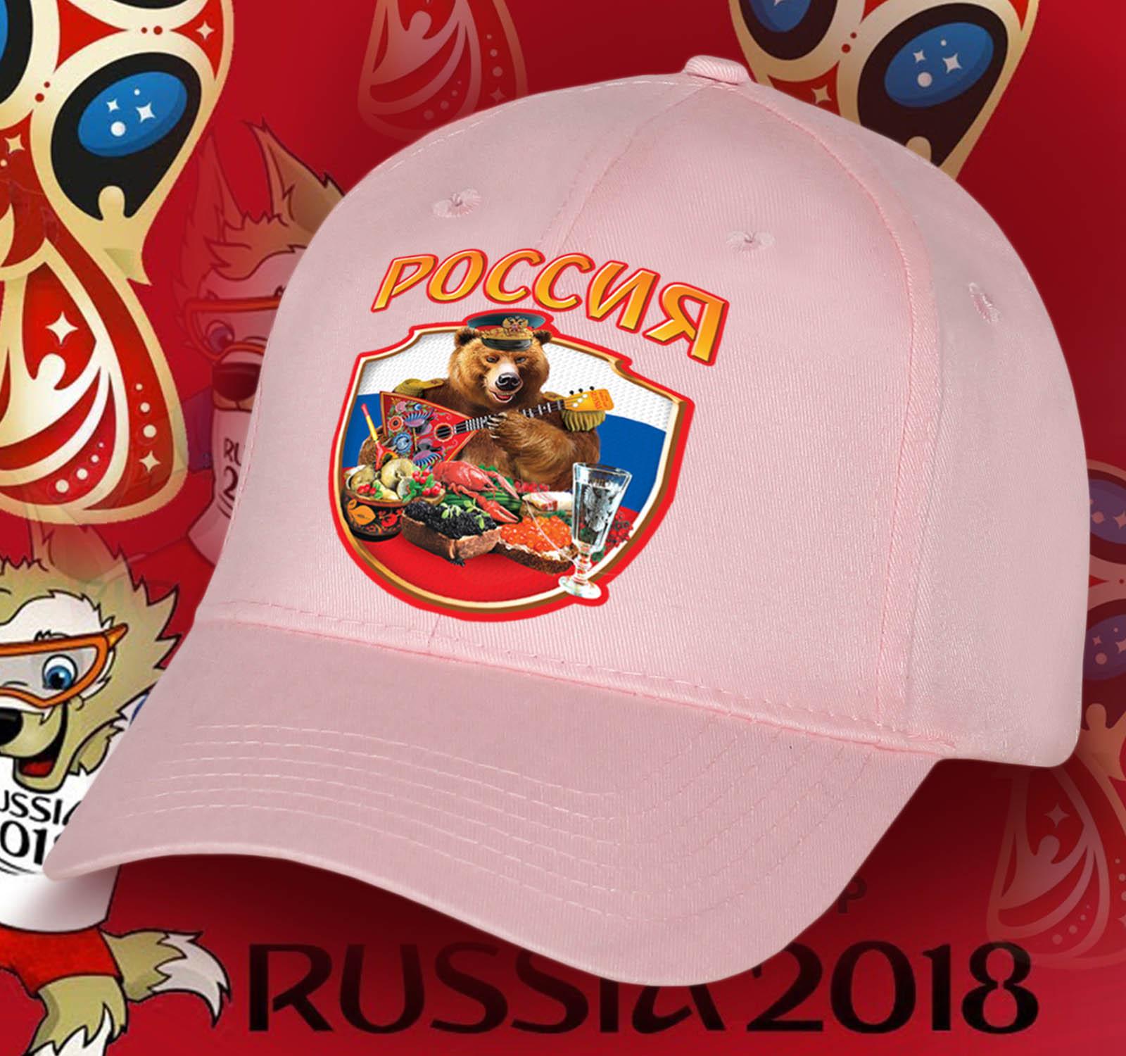 Стильная женская бейсболка с харизматичным русским медведем