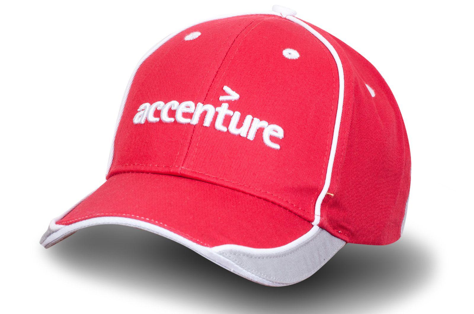 Бейсболка с логотипом Accenture - купить онлайн по выгодной цене