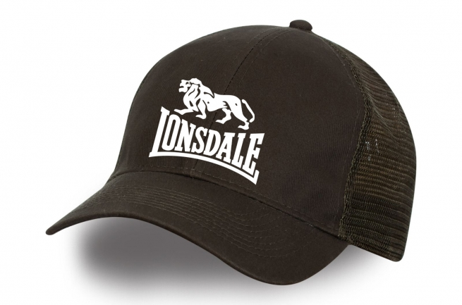 Бейсболка с логотипом Lonsdale