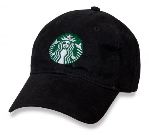 Бейсболка с логотипом Starbucks