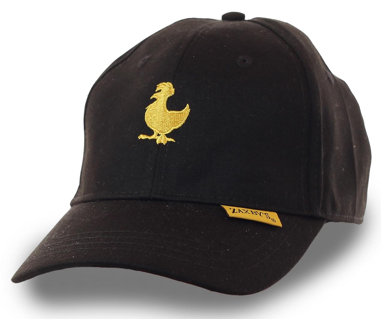 Недорогая фирменная бейсболка с логотипом