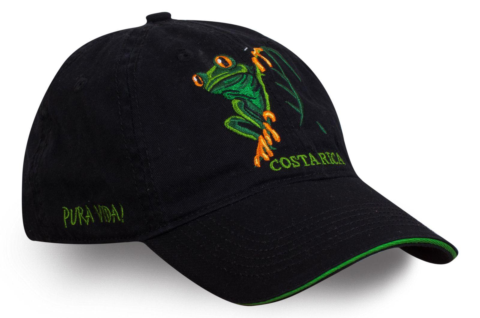 Бейсболка с лягушкой - купить недорого с доставкой