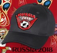 Бейсболка с мячом Russia 2018.