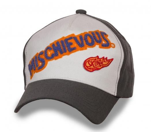 Бейсболка с надписью Mischievous