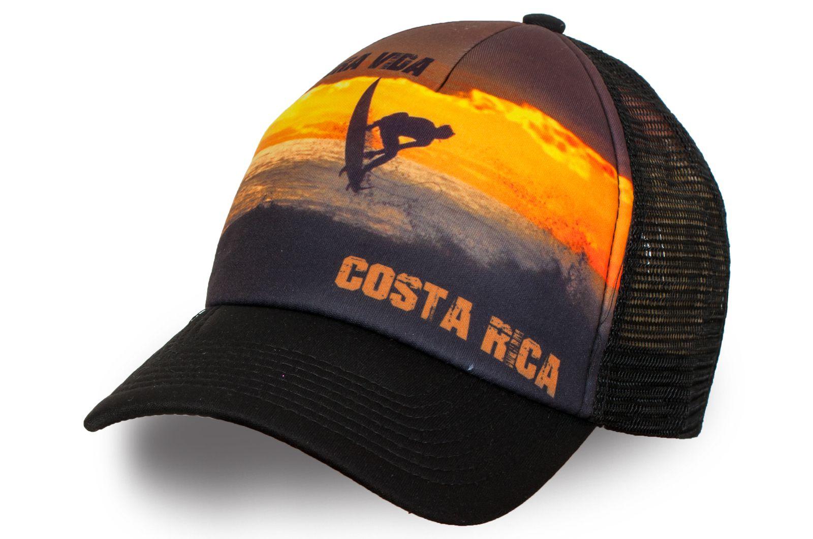 Бейсболка с принтом Costa Rica - купить в интернет-магазине