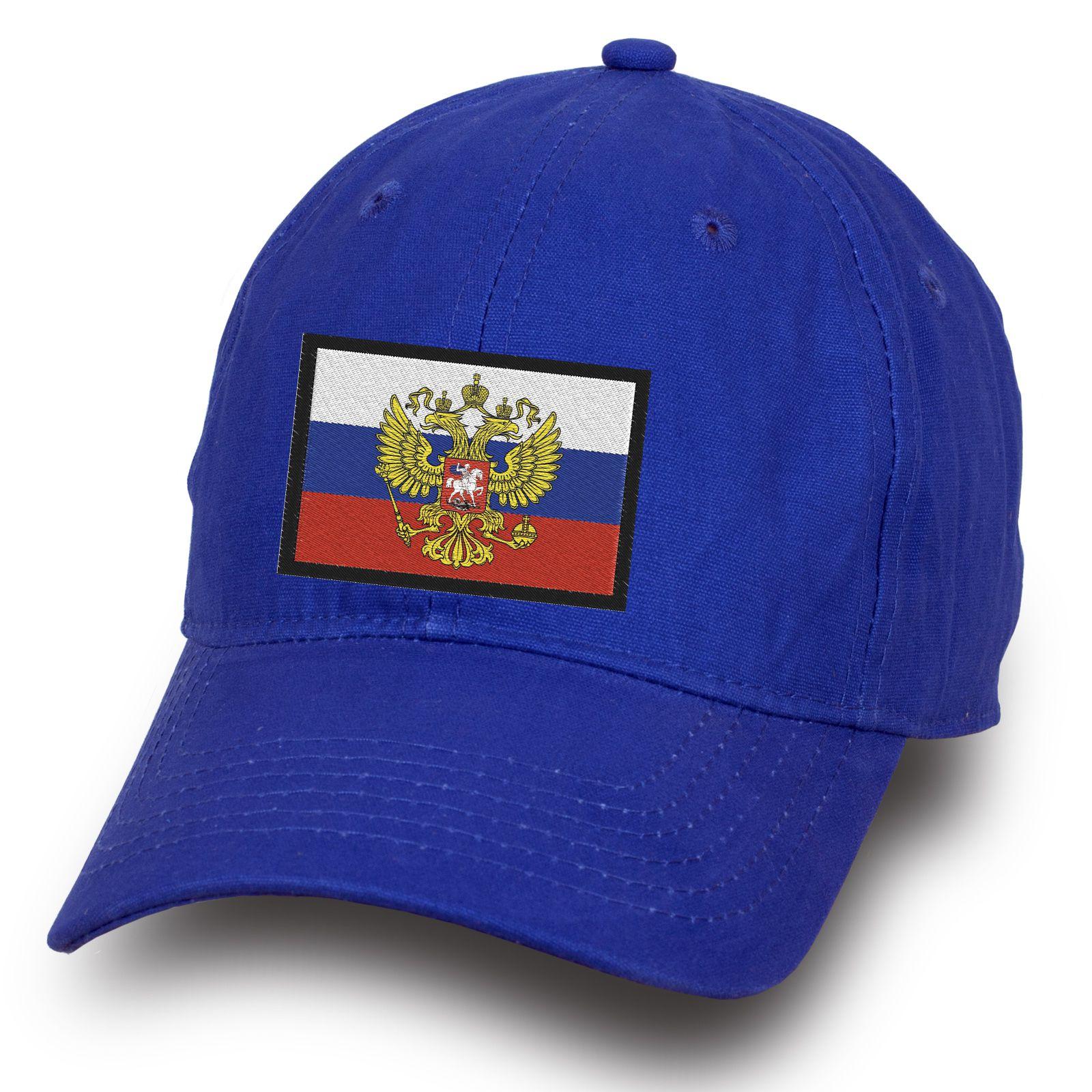 Бейсболка с российской символикой