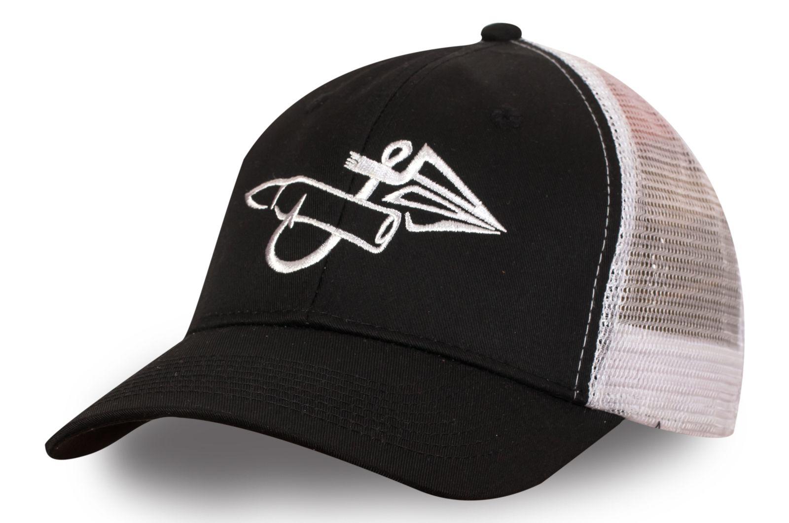 Бейсболка с рыбацким логотипом - заказать по специальной цене