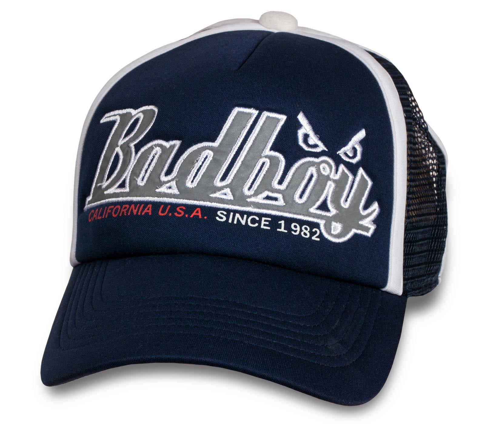 Бейсболка с сеткой от бренда Bad Boy