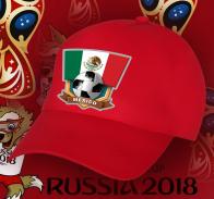 Бейсболка с футбольной символикой Мексики