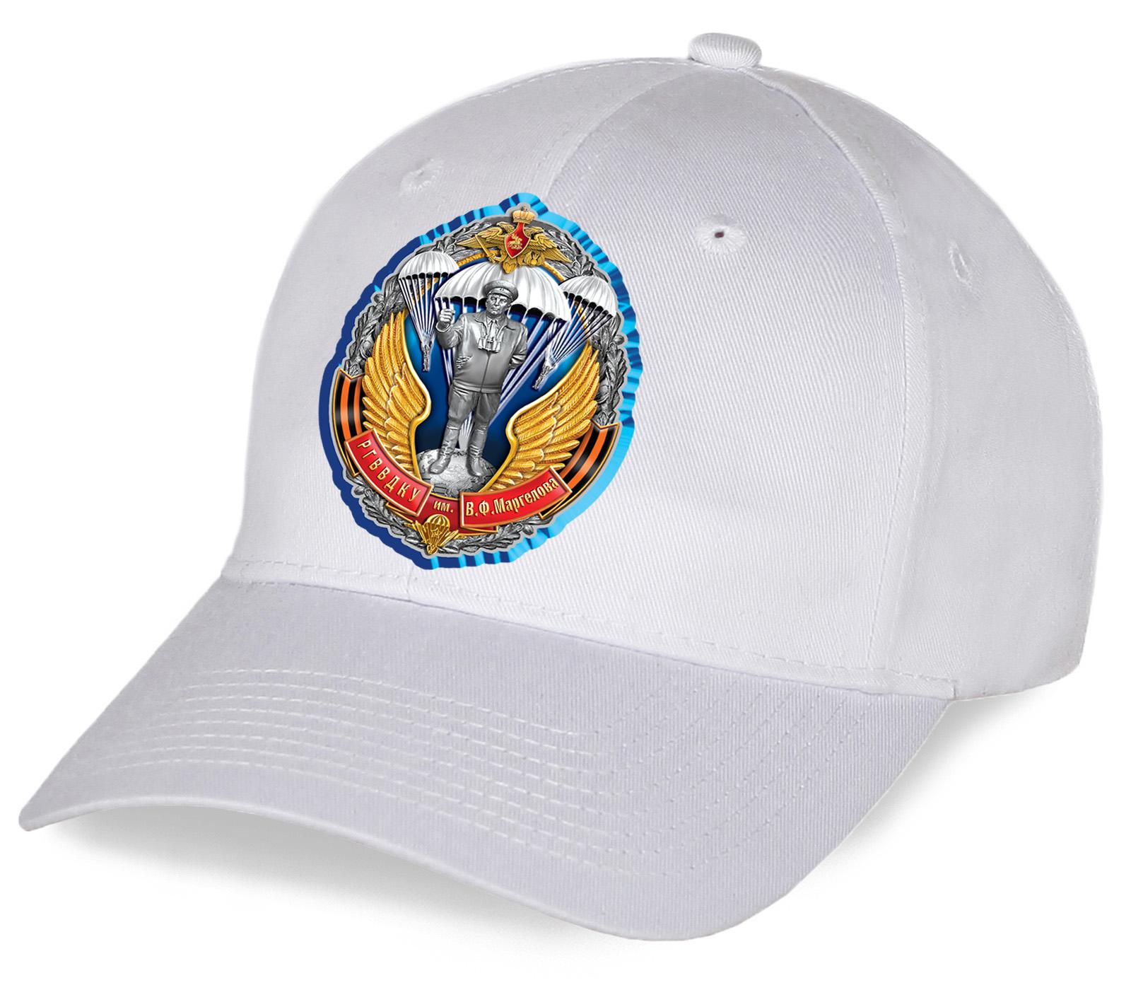 Недорогая кепка с эмблемой РГВВДКУ