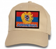 "Бейсболка с вышитым флагом ""ARMENIA"""